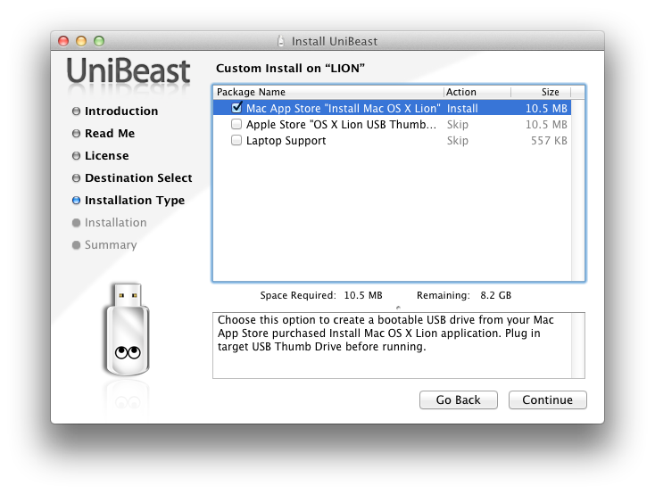 How to install Mac OS X Lion on your Hackintosh with Unibeast
