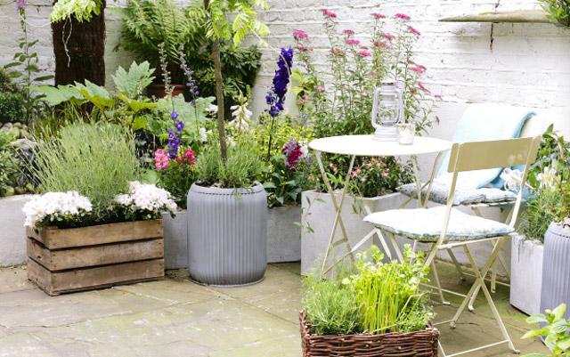 La guarida de bam terrazas al aire libre - Jardineras para terrazas ...