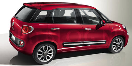 Fiat 500 Gucci >> 5ooblog | FIAT 5oo: New Fiat 500 L Plus or XL (7-seater)