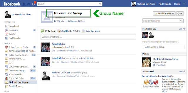 Good names for groups on facebook / Peoples bank al