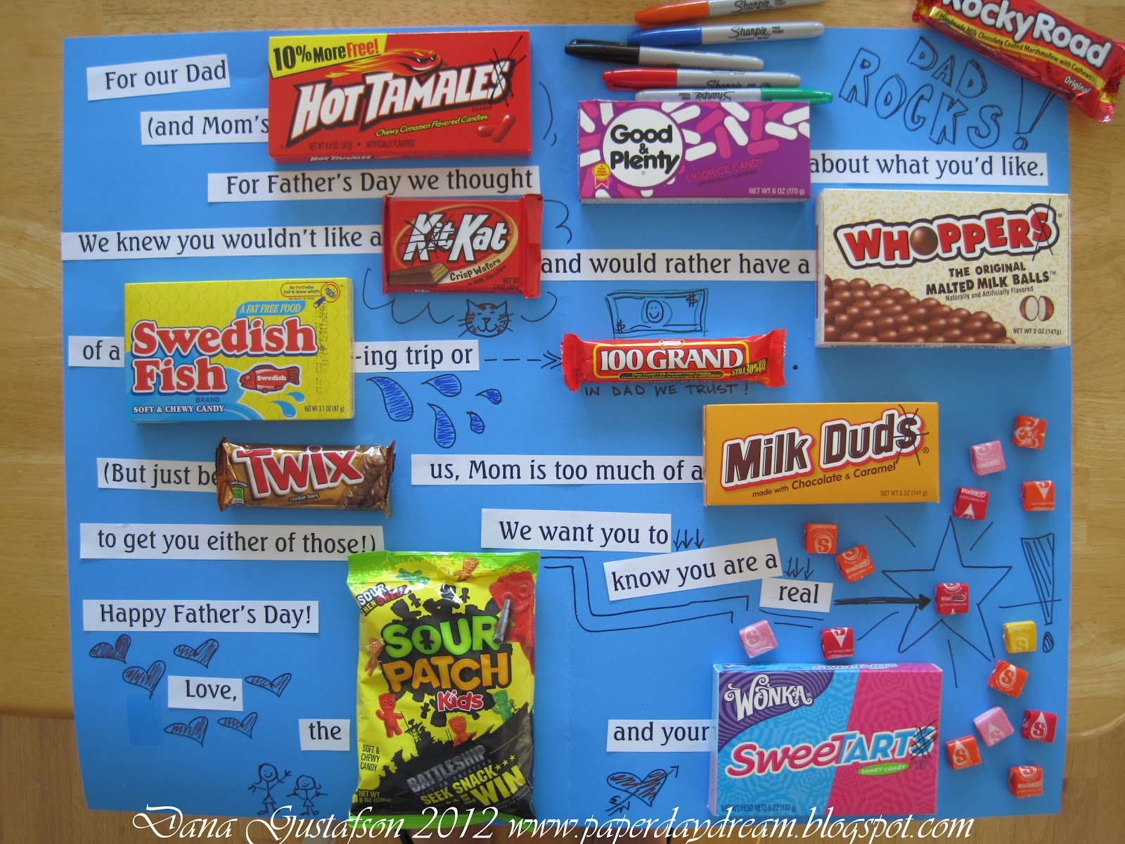 How To Make A Candy Gram Cardperfect For Dad. 1600 x 1200.Valentine's Day Pictures For Husband
