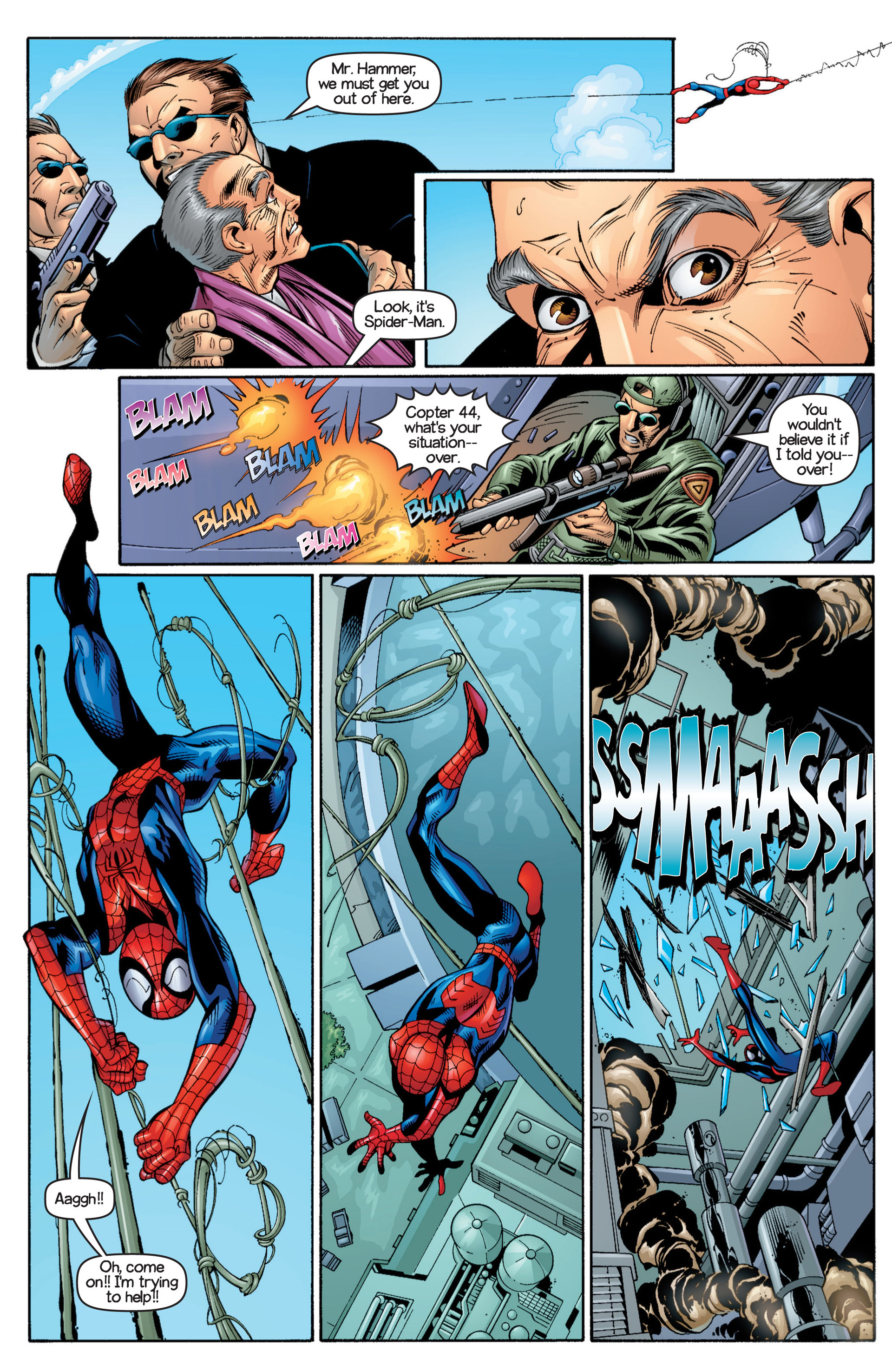 Read online Ultimate Spider-Man (2000) comic -  Issue #17 - 21