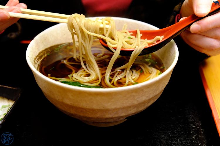 Sobaya - Restaurant Japonais East village - Séjour à New York - Le Chameau Bleu