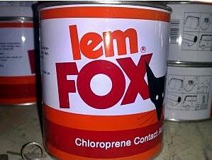 Daftar harga lem fox kuning, putih 1 kg, fox kaleng kecil, reffil.
