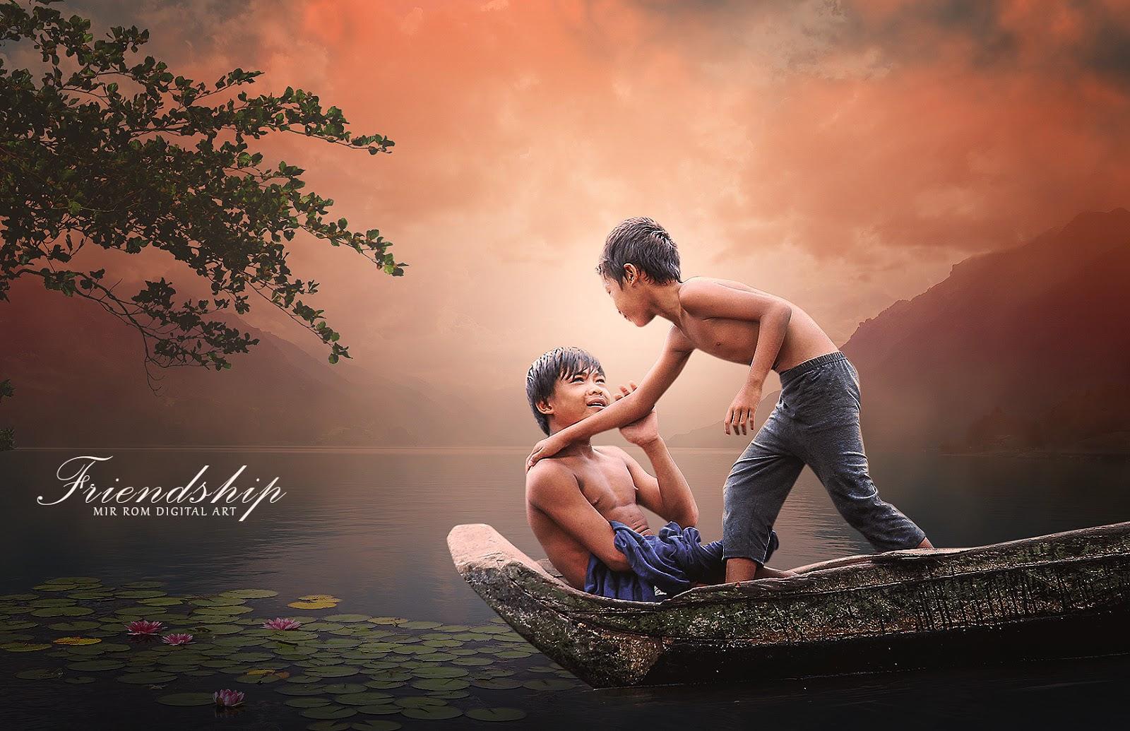 Create a Friendship Beautiful Photo Manipulation In Photoshop CC