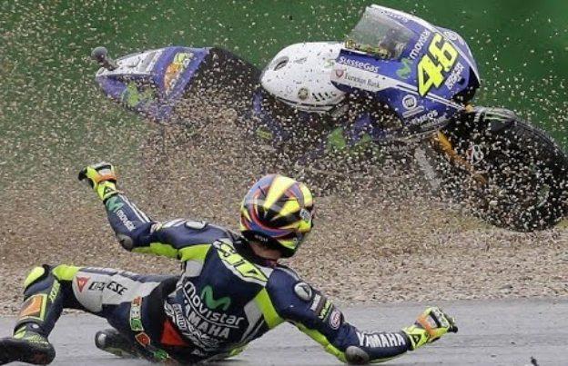 Rossi Crash Di Lap ke 4, MotoGP Jepang 2017