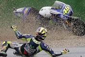 Rossi Crash Di Lap ke 4 MotoGP Jepang 2017