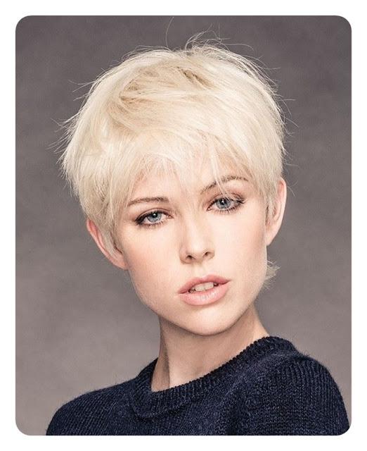 Krótkie fryzury modne fryzury damskie 2017