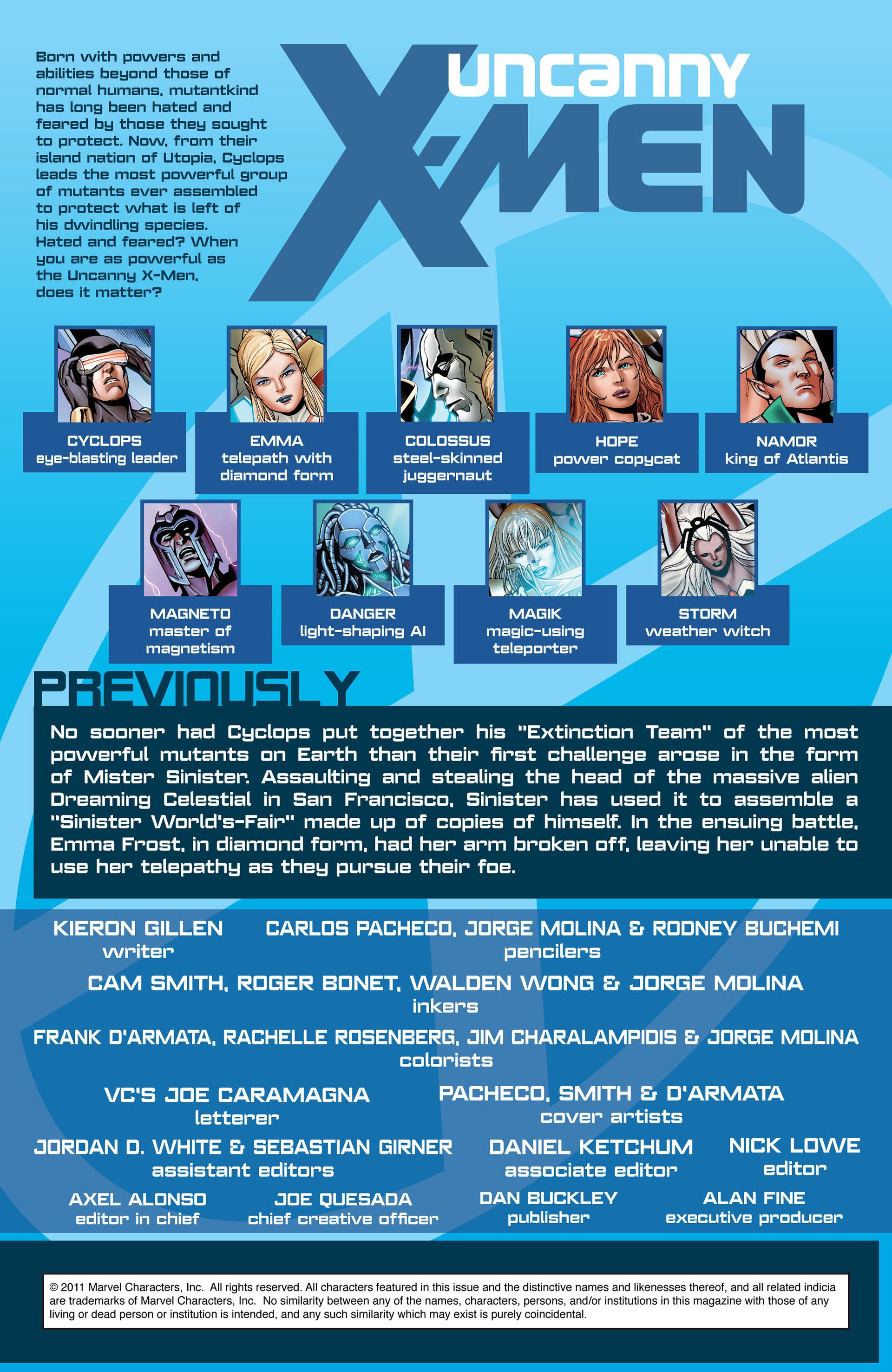 Read online Uncanny X-Men (2012) comic -  Issue #2 - 2