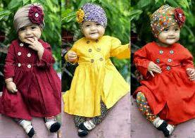 Model Baju Muslim Bayi Desain Luci dan Unik Terbaru