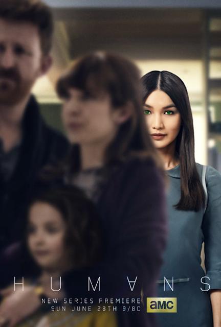 Poster pentru serialul sci-fi Humans