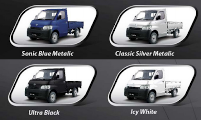 Warna granmax, Warna Daihatsu gran max, Warna Mobil gran max, Warna Mobil