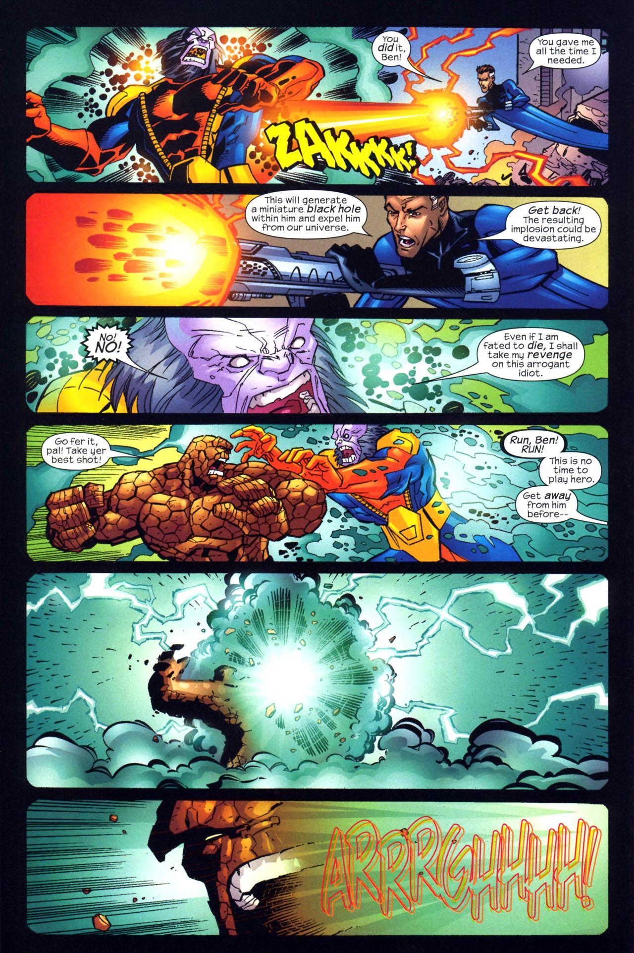Read online Fantastic Five (2007) comic -  Issue #2 - 17