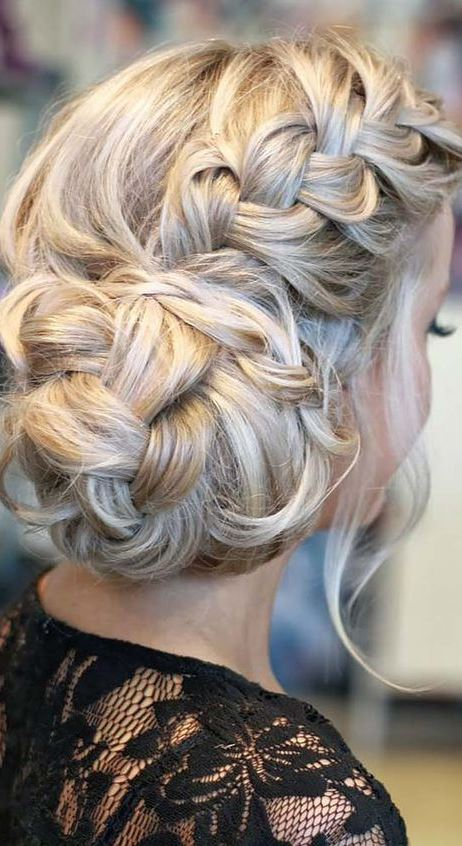 Romantic Bridal Braids