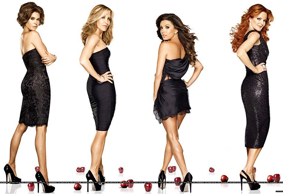 Imagen promocional de las protagonistas de Desperate Housewives