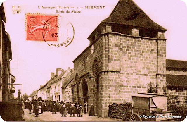 CPA Herment, Auvergne.