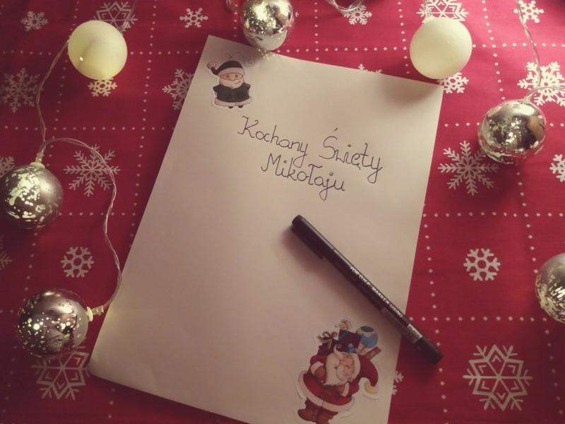 Piszemy list do Świętego Mikołaja