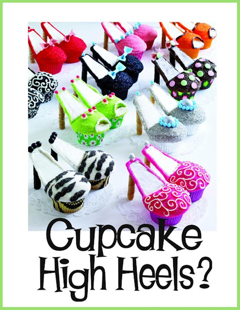 It S Written On The Wall Cupcake High Heels Ironing