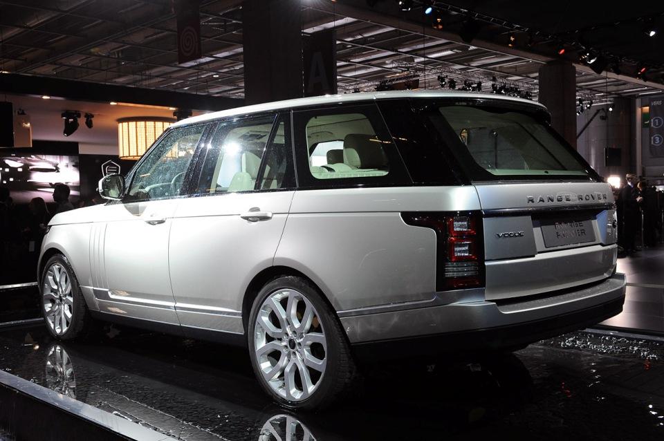 paris 2012 2013 new land rover range rover gives its audience debut garage car. Black Bedroom Furniture Sets. Home Design Ideas