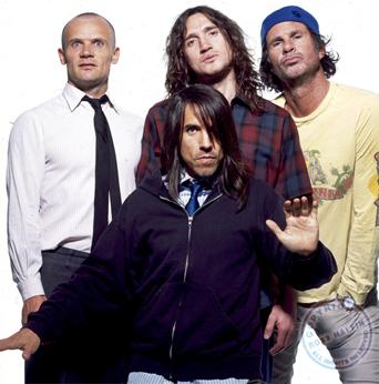 Foto de Red Hot Chili Peppers posando