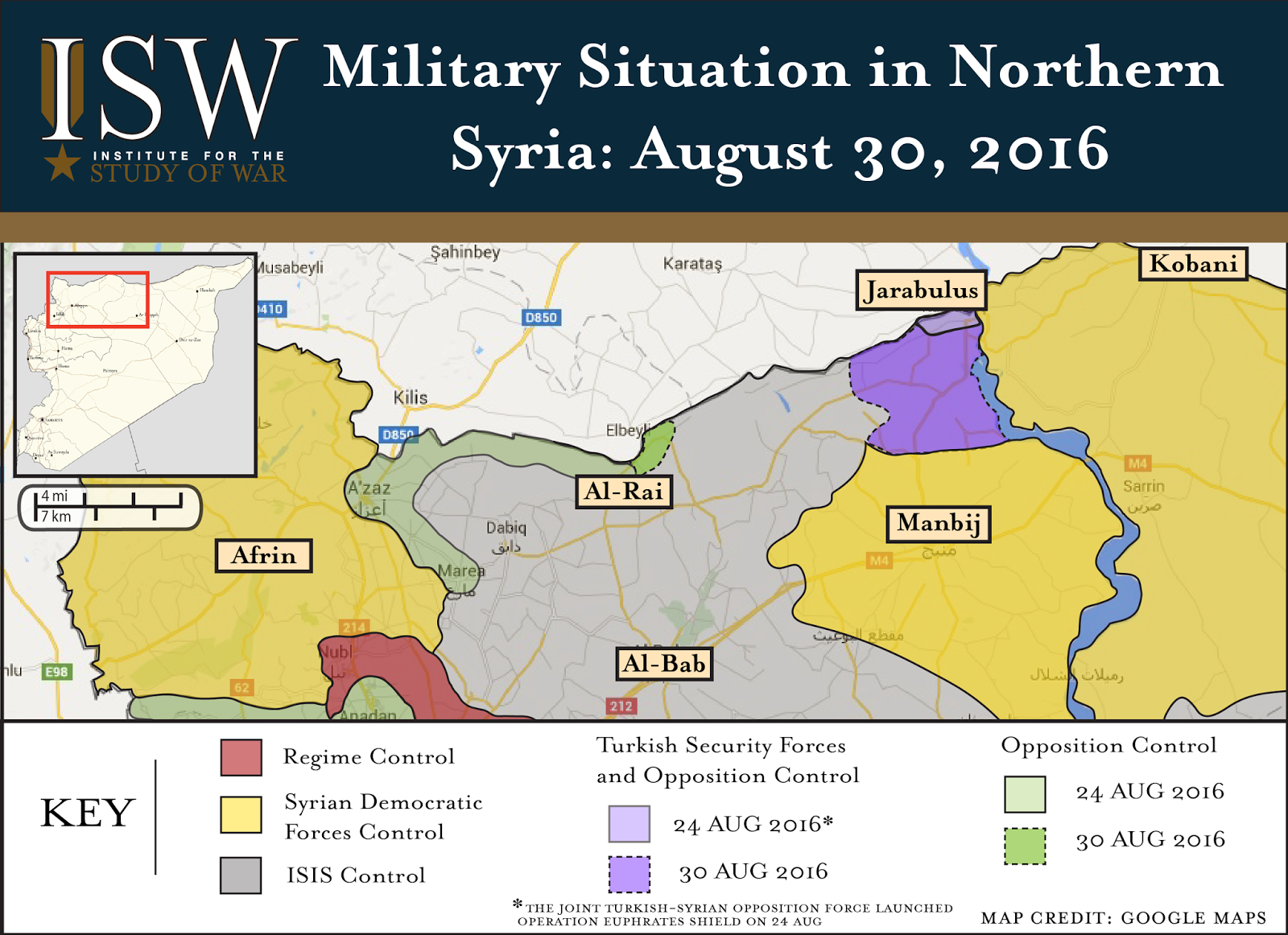 ISW Blog Turkish Incursion In Northern Syria Signals Turning - Where is syria and turkey