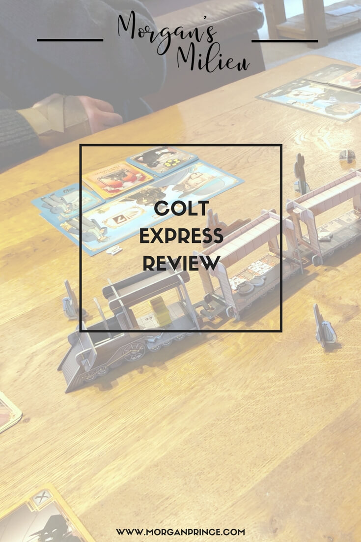 Colt Express - a great game to play as a family. Have you tried it yet?