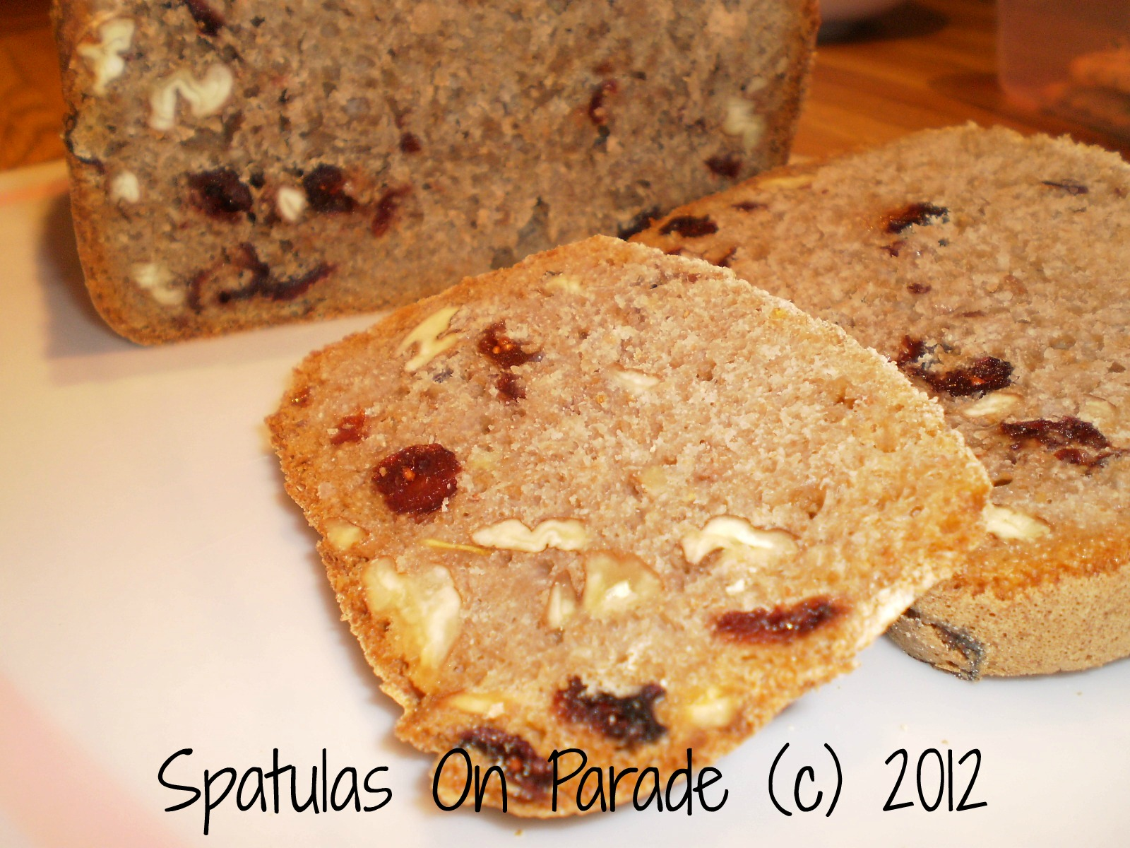 Cranberry Pecan Orange Bread