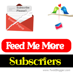 email subscription popup blogger