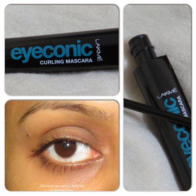 Lakme Eyeconic Curling Mascara Review and Pictures, Indian makeup blog, Indian makeup and beauty blog, Makeup and beauty bloggers in India, Delhi beauty bloggers, Lakme eyeconic range, Lakme india makeup products review, Affordable mascara available in India, Indian makeup brands, Lakme makeup range, Milliondollarlooks makeup and beauty bog by makeupmirrornme