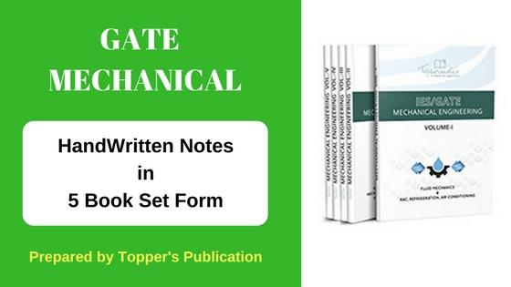 gate mechanical handwritten notes, gate mechanical study materials