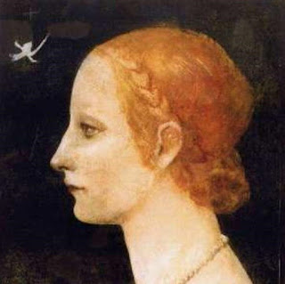 It is now thought LucreziaCrivelli was the subject of Da Vinci's Profile of a Young Lady