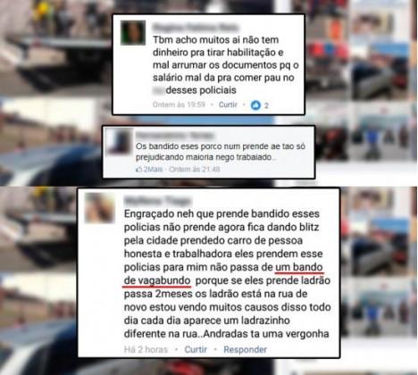 Três são detidos após postagem que questionou trabalho da PM em Andradas, MG