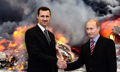 Serangan Syiah Assad dan Sekutu Tetap Berlanjut