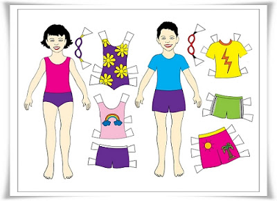 Paper Doll Dress Up Day Energy Mindful Kids