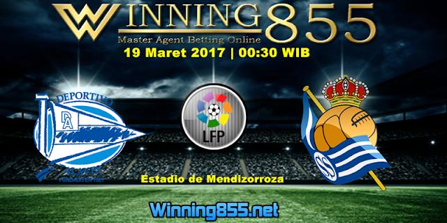 Prediksi Skor Deportivo Alaves vs Real Sociedad 19 Maret 2017