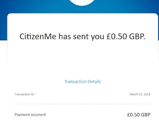 Kiếm tiền khảo sát với Citizenme