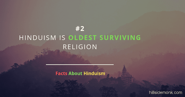 Fact About Hinduism 2 oldest RELIGION