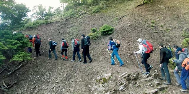 Πεζοπορία στην ορεινή Αργολίδα από τον Αθηναϊκό Ορειβατικό Σύλλογο