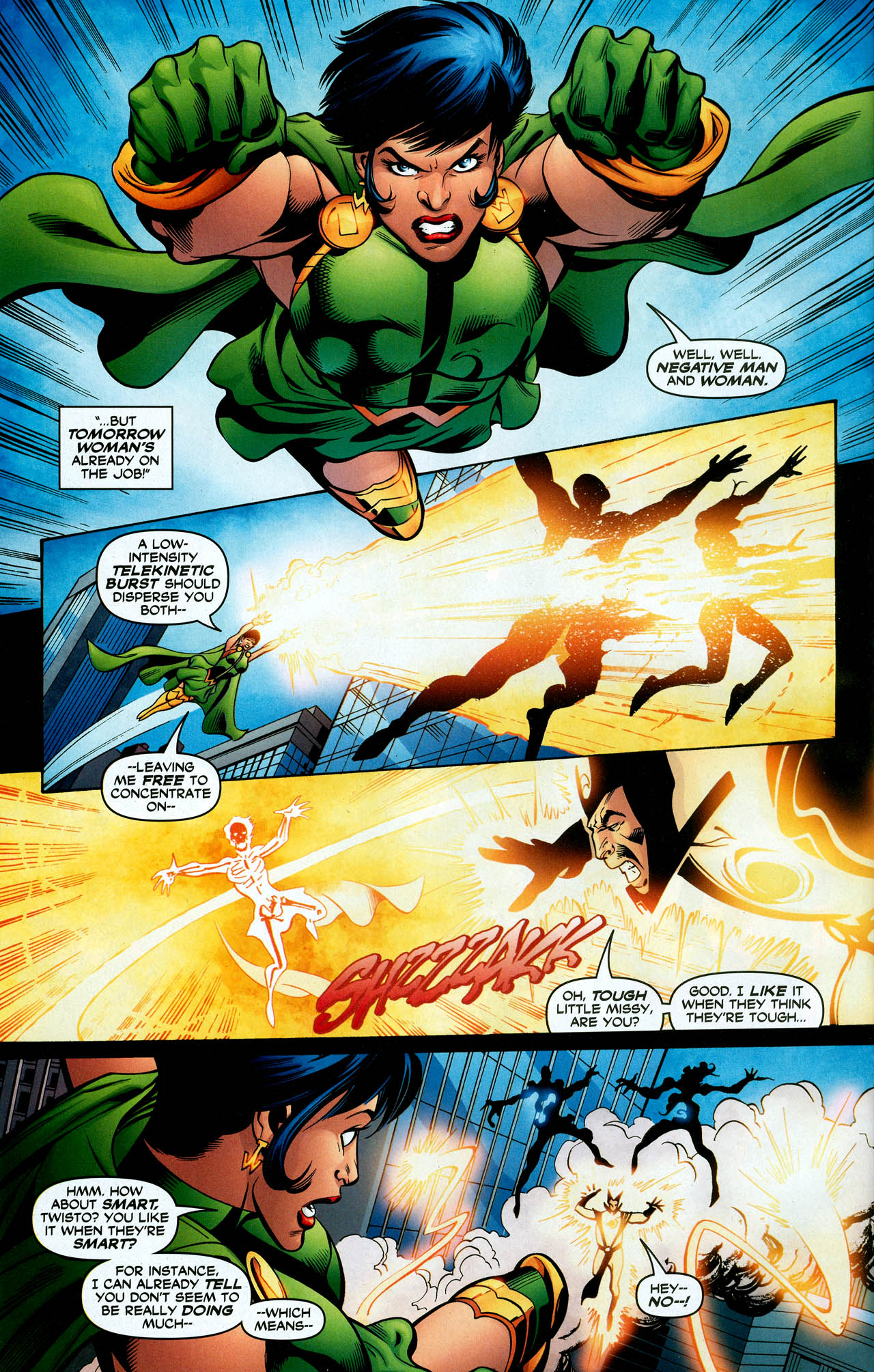 Read online Trinity (2008) comic -  Issue #28 - 32