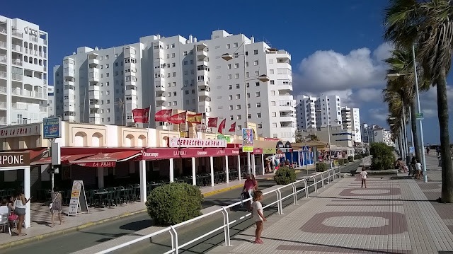 Пляж Valdelagrana Испания