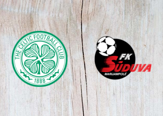 Celtic vs Suduva - Highlights - 30 August 2018