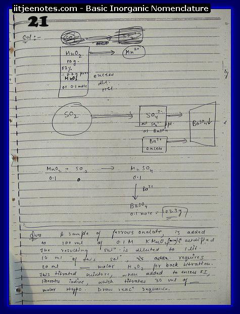 Inorganic Nomenclature Notes 3