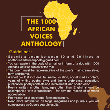 Call For Submission: Young Creatives Speak Back (The 1000 Young African Poets Anthology)