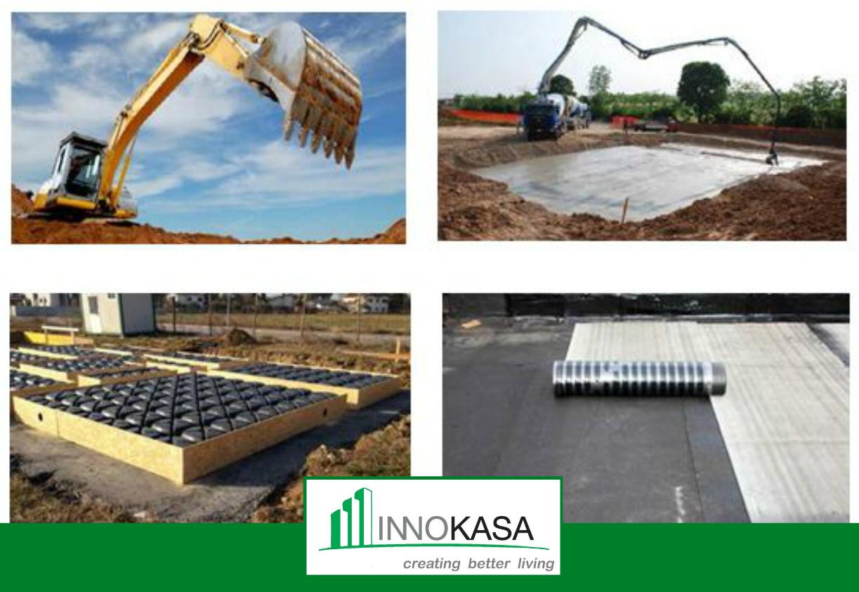 Opere preliminari opere e scavi di fondazione for Piano di fondazione di casa