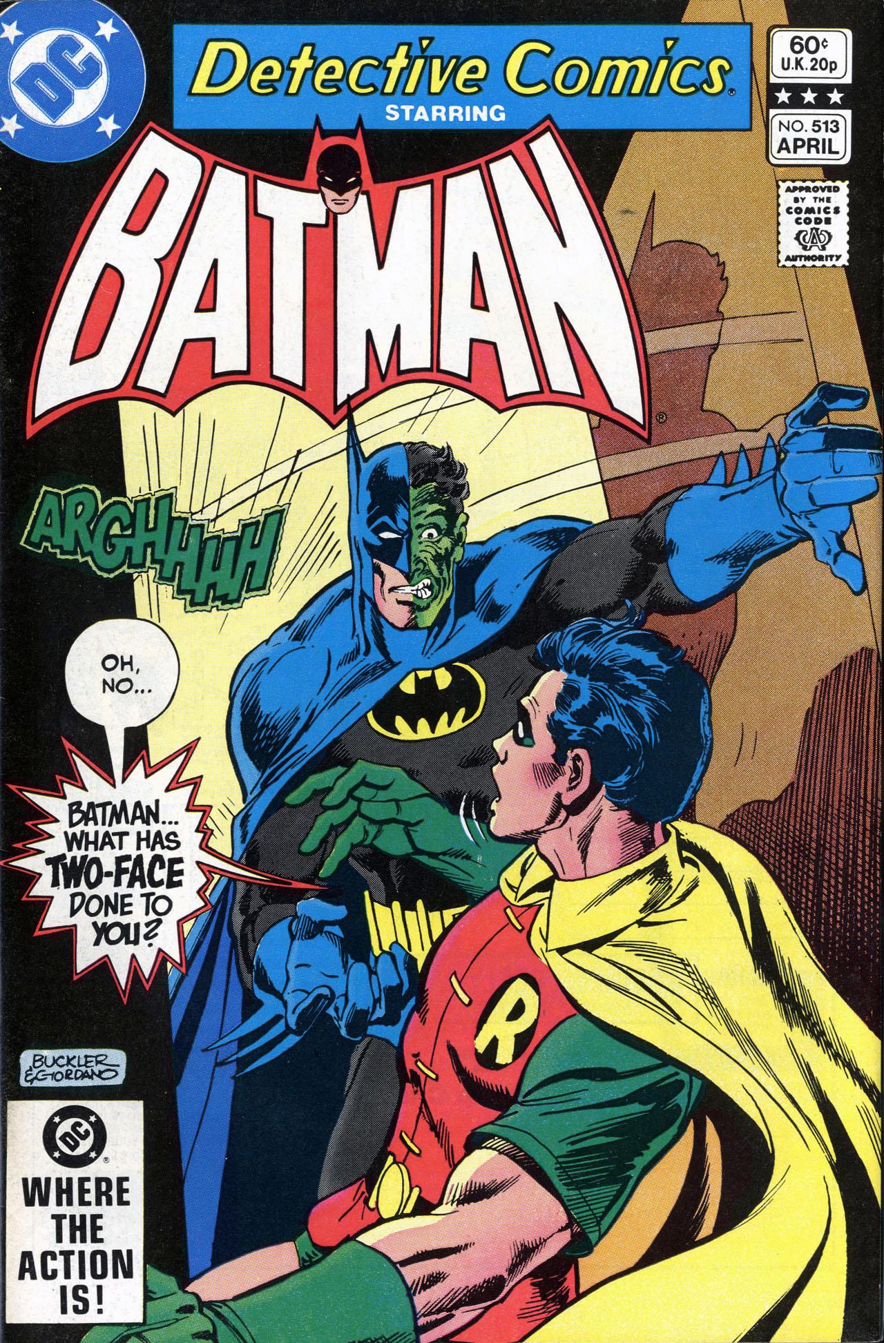 Detective Comics (1937) 513 Page 0