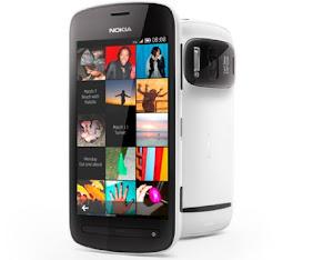 harga Nokia 808 PureView, spesifikasi lengkap hp Nokia 808 PureView, gambar dan review ponsel kamera 41MP Nokia 808 PureView
