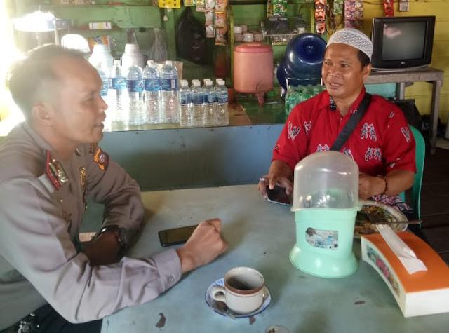 Kapolsek Perbatasan Temui Ketua Mualaf Kapuas Hulu