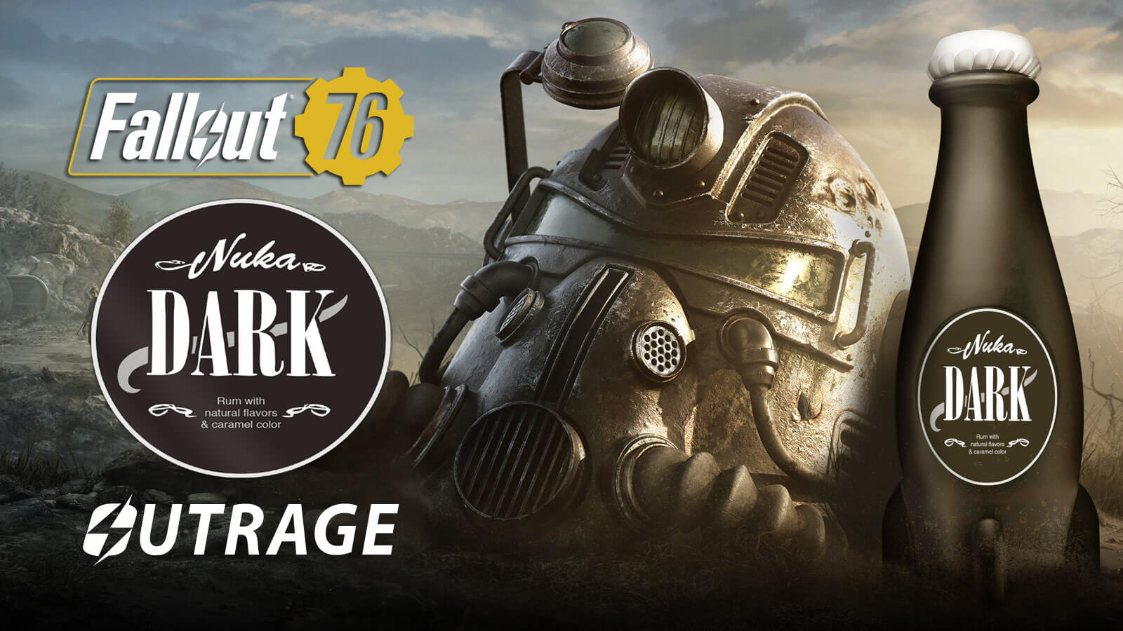 Fallout 76 Nuka Cola Dark Rum Outrage - Gameslaught