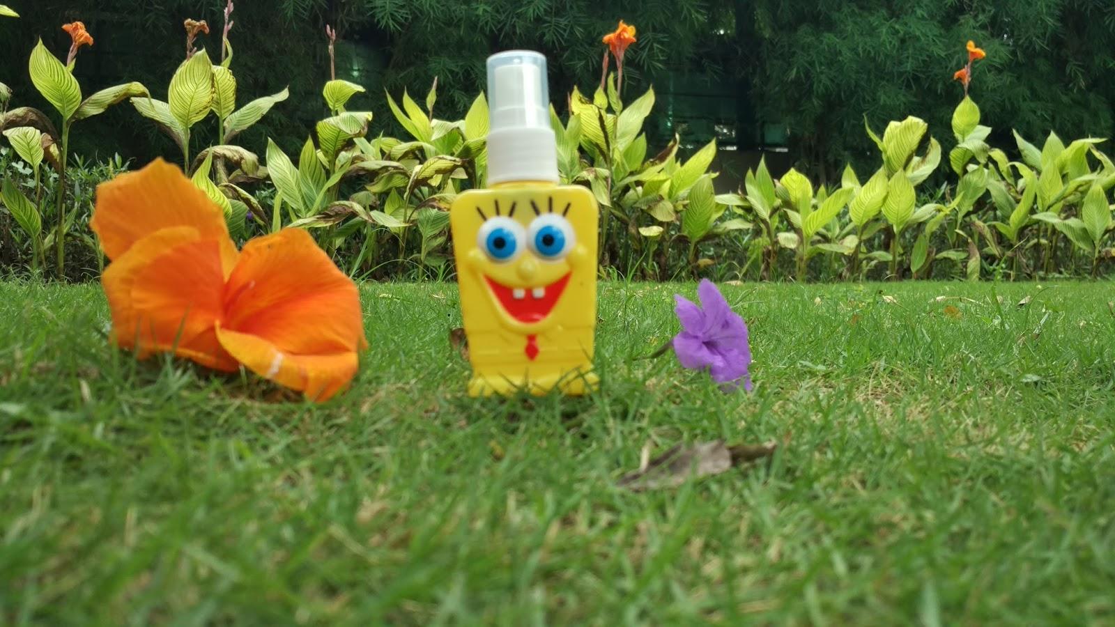 Botol Parfum Spongebob, botol parfum unik