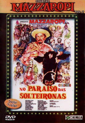 Mazzaropi: No Paraíso das Solteironas - DVDRip Nacional